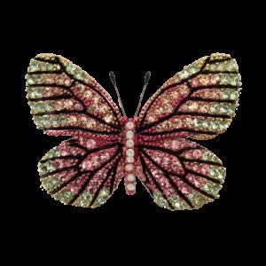 Broche Papillon cristaux Swarovski