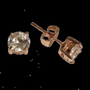 Boucles d'oreille puces cristaux