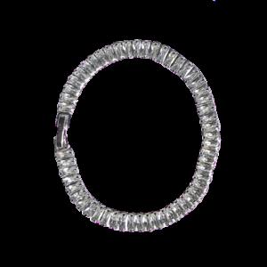 Bracelet baguettes cristaux