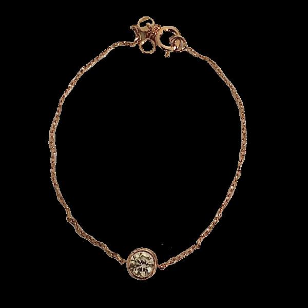Bracelet un soltaire quartz