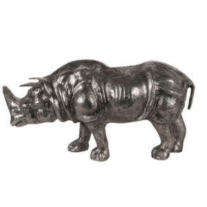 Rhinocéros déco en métal