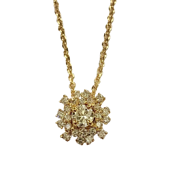Pendentif diamants Nyala by Fauve