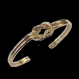 Bracelet noeud jonc ouvert